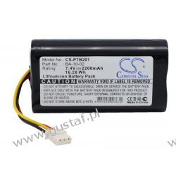Citizen CMP-10 Mobile Thermal printer battery / BA-10-02 2200mAh 16.28Wh Li-Ion 7.4V (Cameron Sino) Samsung
