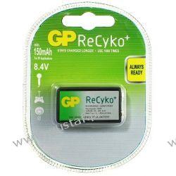 Akumulator GP 6F22 150mAh ReCYKO Ready2Use  8,4V NiMH