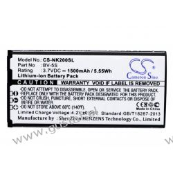 Nokia RM-1013 / BV-5S 1500mAh 5.55Wh Li-Ion 3.7V (Cameron Sino) Inni producenci