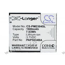 Prestigio MultiPhone 5044 Duo / PAP5044BA 1900mAh 7.03Wh Li-Ion 3.7V (Cameron Sino) Pozostałe