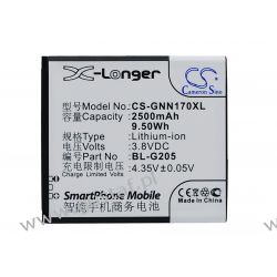Gionee GN170 / BL-G205 2500mAh 9.50Wh Li-Ion 3.7V (Cameron Sino) Pozostałe