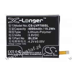 Lenovo P70t / BL234 4000mAh 15.20Wh Li-Polymer 3.8V (Cameron Sino) Pozostałe