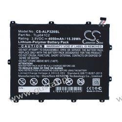 Alcatel One Touch POP 8 / TLp041C2 4050mAh 15.39Wh Li-Polymer 3.8V (Cameron Sino) Akcesoria
