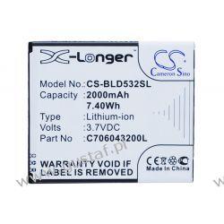 Blu D532 / C706043200L 2000mAh 7.40Wh Li-Ion 3.7V (Cameron Sino)