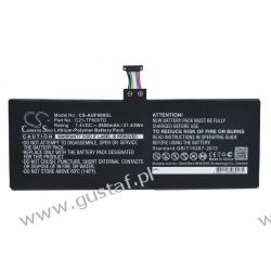 Asus VivoTab TF600T / C21-TF600TD 2950mAh 21.83Wh Li-Polymer 7.4V (Cameron Sino) Pozostałe