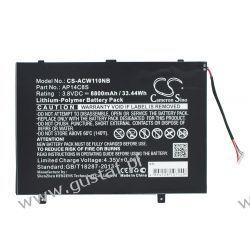 Acer Aspire Switch 11 / AP14C8S 8800mAh 33.44Wh Li-Polymer 3.8V (Cameron Sino) Acer