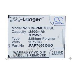 Prestigio MultiPhone 7600 Duo / PAP7600 DUO 2500mAh 9.25Wh Li-Polymer 3.7V (Cameron Sino) Samsung