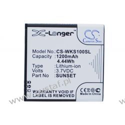 Wiko Sunset 1200mAh 4.44Wh Li-Ion 3.7V (Cameron Sino) Pozostałe