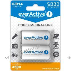 "2x everActive R14/C Ni-MH 5000 mAh ready to use ""Professional line"" Pozostałe"