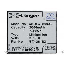 Mobistel Cynus T5 / BTY26182 2000mAh 7.40Wh Li-Ion 3.7V (Cameron Sino) Akcesoria i części