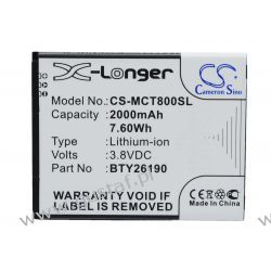 Mobistel Cynus T8 / BTY26190 2000mAh 7.60Wh Li-Ion 3.8V (Cameron Sino) Akumulatory