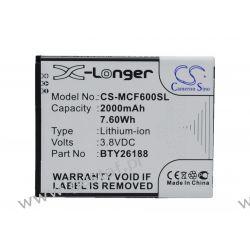 Mobistel Cynus F6 / BTY26188 2000mAh 7.60Wh Li-Ion 3.8V (Cameron Sino) Pozostałe