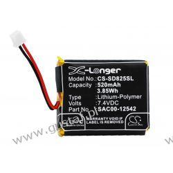 SportDog D-1875 / SAC00-12542 520mAh 3.85Wh Li-Polymer 7.4V (Cameron Sino) HTC/SPV