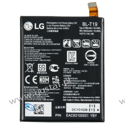 LG Nexus 5X H791 / BL-T9 2700mAh 10.03Wh Li-Polymer 3.8V (oryginalny) Akumulatory