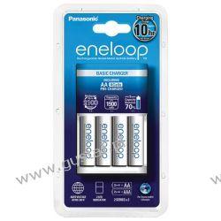 Panasonic Eneloop BQ-CC51 + 4 x R6/AA Eneloop 2000mAh BK-3MCCE Głośniki przenośne