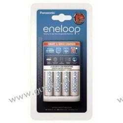 Panasonic Eneloop BQ-CC55 + 4 x R6/AA Eneloop 2000mAh BK-3MCCE