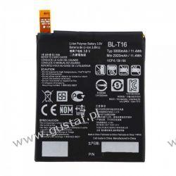 LG G Flex 2 H955 / BL-T16 2920mAh 11.1Wh Li-Polymer 3.8V (oryginalny) Pozostałe