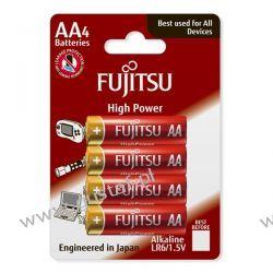 4 x Fujitsu High Power Alkaline LR6/AA (blister) Akumulatory
