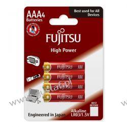 4 x Fujitsu High Power Alkaline LR03/AAA (blister)
