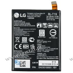 LG Nexus 5X H791 / BL-T19 2700mAh 10.3Wh Li-Polymer 3.8V (oryginalny) LG