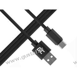 Kabel Przewód USB-C Nylon 1m (GreenCell)