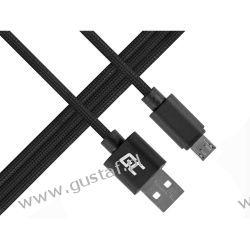 Kabel Przewód micro USB Nylon 1m (GreenCell) Pozostałe