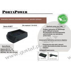 Minolta NP-400 ładowarka USB z wymiennym adapterem ACMPE (gustaf) Zasilanie aparatów