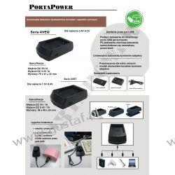 Fuji NP-60 ładowarka USB z wymiennym adapterem ACMPE (gustaf) Zasilanie aparatów