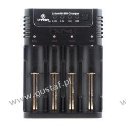 Szybka ładowarka do akumulatorów cylindrycznych Li-ion i Ni-MH 18650 Xtar XP4