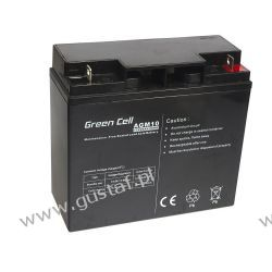 Akumulator AGM 12V 20Ah {181 × 77 × 167 mm} (GreenCell) Pozostałe