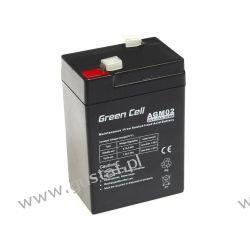 Akumulator AGM 6V 4.5Ah {70 × 47 × 106 mm} (GreenCell) Pozostałe