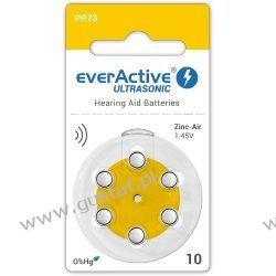 6 x baterie słuchowe everActive ULTRASONIC 10 Pozostałe