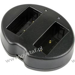 Fuji FinePix HS30 / BC-W126 ładowarka USB DC 8.4V x 2 do NP-W126 (Cameron Sino) Zasilanie aparatów