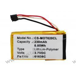Motorola Motoactv / SNN5904A 230mAh 0.85Wh Li-Polymer 3.7V (Cameron Sino) Telefony i Akcesoria