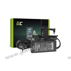 Zasilacz sieciowy 19V 3.42A 4.5x3.0mm z pinem 65W (GreenCell) Komputery