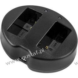 Panasonic Lumix DMC-FZ1000 / DE-A79B ładowarka USB DC 4.2V x 2 do DMW-BLC12 (Cameron Sino) Ładowarki