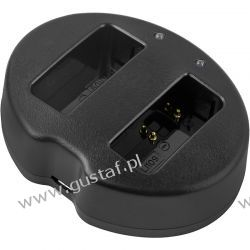 Pentax K2 / D-BC109 ładowarka USB DC 8.4V x 2 do D-LI109 (Cameron Sino) Ładowarki