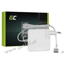 Zasilacz sieciowy Apple Pro Retina 13 A1425 / A1435 16.5V 3.65A Magsafe 2 60W (GreenCell) Komputery