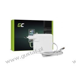 Zasilacz sieciowy Apple MacBook Pro 17 / A1172 18.5V 4.5A Magsafe 5 pin 85W (GreenCell)