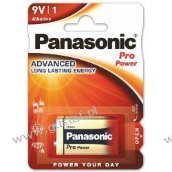 1 x Panasonic PRO Power 6LR61/9V (blister) 9V (6F22)
