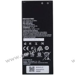 Huawei Y6 / HB4342A1RBC 2200mAh 8.36Wh Li-Polymer 3.8V (oryginalny) Pozostałe