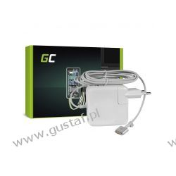 Zas sieciowy Apple MacBook Air 13 A1466 /MD592Z 14.5V / 14.85V 3.1A (zgodne z 3.05A)  Magsafe2 (nowsza końcówka) 45W (GreenCell) Telefony i Akcesoria