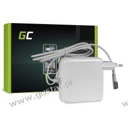 Zasilacz sieciowy Apple MacBook 13 A1181 / 661-3957 16.5V 3.65A 5 pin 60W (GreenCell) Komputery