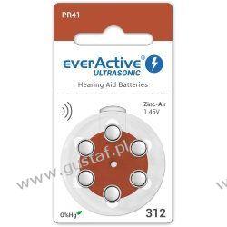 6 x baterie słuchowe everActive ULTRASONIC 312 RTV i AGD