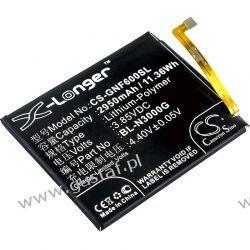 Gionee F6 / BL-N3000G 2950mAh 11.36Wh Li-Polymer 3.85V (Cameron Sino) Telefony i Akcesoria