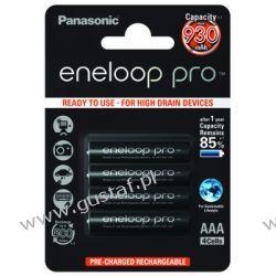 4 x akumulatorki Panasonic Eneloop PRO R03 AAA 930mAh BK-4HCDE/4BE (blister) Akumulatorki