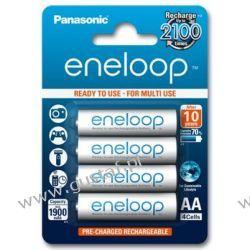 4 x akumulatorki Panasonic Eneloop R6 AA 2000mAh BK-3MCCE/4BE (blister) Akumulatorki