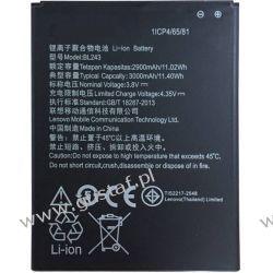 Lenovo A5000 / BL234 3900mAh 14.82Wh Li-Polymer 3.8V (oryginalny) Akcesoria GSM
