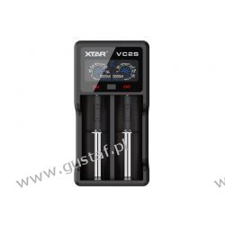 Ładowarka do akumulatorów cylindrycznych Li-ion / Ni-MH / Ni-CD 18650 Xtar VC2S Zasilanie