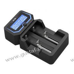 Ładowarka do akumulatorów cylindrycznych Li-ion 18650 Xtar X2 RTV i AGD